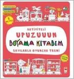 Sayılarla Oyuncak Treni-Aktiviteli Upuzuuun Boyama Kitabım