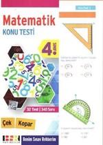 4. Sınıf Matematik Çek Kopar Konu Testi