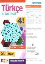 4. Sınıf Türkçe Çek Kopar Konu Testi