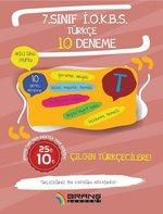 7.Sınıf İOKBS Türkçe 10 Deneme