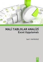 Mali Tablolar Analizi Excel Uygulamalı