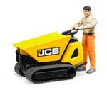 Bruder-Bworld Jcb Dumpster Htd-5 & İnşaat İşçisi 62004