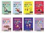 Eğlenerek Boyama Seti-8 Kitap Takım