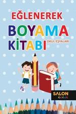 Eğlenerek Boyama Kitabı-Okul Eşyaları