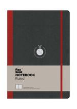 Flexbook-Akıllı Defter Çizgili Kırmızı 17x24
