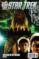 Star Trek Sayı 7 Kapak A-Çizgi Roman Dergisi