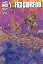Yargıç Dredd Sayı 5 Kapak B-Çizgi Roman Dergisi