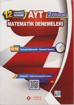 AYT Matematik Çözümlü 12 Deneme 2.Oturum