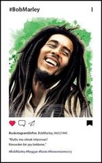 Bob Marley Bookstagram Defter - Aylak Adam Hobi