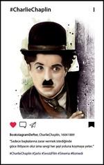 Charlie Chaplin Bookstagram Defter - Aylak Adam Hobi