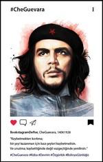 Che Guevara Bookstagram Defter - Aylak Adam Hobi
