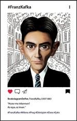 Fanz Kafka Bookstagram Defter - Aylak Adam Hobi