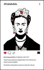 Frida Kahlo Grafiti 2 Bookstagram Defter - Aylak Adam Hobi
