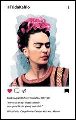 Frida Kahlo Profil Bookstagram Defter - Aylak Adam Hobi