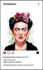 Frida Kahlo Bookstagram Defter - Aylak Adam Hobi