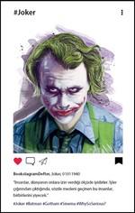Joker Bookstagram Defter - Aylak Adam Hobi