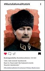 Atatürk 2 Bookstagram Defter - Aylak Adam Hobi