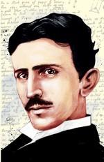Nikola Tesla Yumuşak Kapaklı Defter - Aylak Adam Hobi