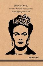 Frida Kahlo 1 Kraft Defter - Aylak Adam Hobi