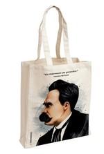 Friedrich Nietzsche Aforizma Bez Çanta - Aylak Adam Hobi