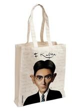 Franz Kafka Karikatür Aforizma Bez Çanta - Aylak Adam Hobi