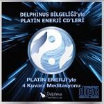 Kuvarz Meditasyonu Delphinus Bilgeliği'yle Platin Enerji CD'leri 4