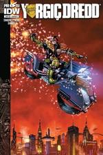 Yargıç Dredd Sayı 8 Kapak B-Çizgi Roman Dergisi