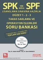 SPK-SPF Takas Saklama ve Operasyon İşlemleri Soru Bankası