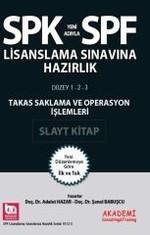 SPK-SPF Takas Saklama ve Operasyon İşlemleri Slayt Kitap