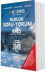 KPSS Hukuk Soru-Yorum Tamamı Çözümlü 2046 Soru