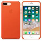iPhone 8 Plus / 7 Plus için Deri Kılıf - Parlak Turuncu MRGD2ZM/A