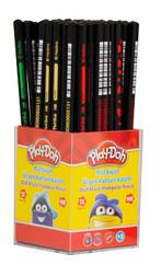 Play-Doh Üçgen Gövde Mat Siyah Kurşun Kalem Tekli