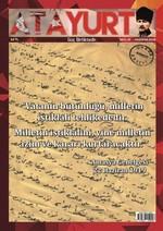Atayurt Dergisi Sayı 15
