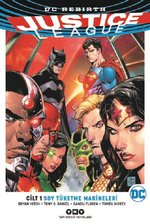 Justice League Cilt 1-Soy Tüketme Makineleri