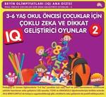 3-6 Yaş Okul Öncesi Çocuklar için Çoklu Zeka ve Dikkat Geliştirici Oyunlar 2