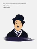 Salon Edebiyat Defteri Charlie Chaplin Ciltli Çizgisiz