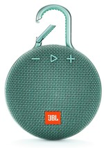 JBL CLIP3 IPX7 Bluetooth Speaker Su Yeşili
