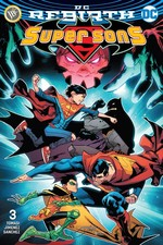 DC Rebirth-Super Sons Sayı 3