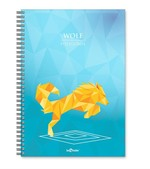 LeColor Defter A5 200Yp.Wolf
