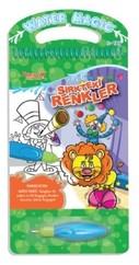 Sirkteki Renkler-Water Magic-Özel Kalemli Boya Kitabı