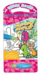 Şekerlerle Sayılar-Water Magic-Özel Kalemli Boya Kitabı