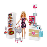 Barbie Bebek Süpermarkette Oyun Seti (FRP01)