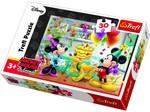 Trefl-Puzzle Mickey&Minnie Doğum Günü Partisi (18211)