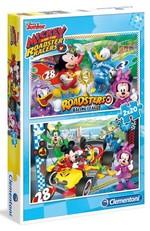 Clementoni Puzzle Mickey 2x20 7034