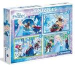 Clementoni Puzzle 4 in 1 Frozen 7614