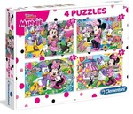 Clementoni Puzzle 4 in 1 Minnie 7615