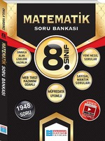 8.Sınıf Matematik Çözümlü Soru Bankası