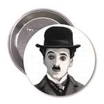 Aylak Adam Hobi-Charlie Chaplin  Karikatür Rozet
