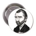 Aylak Adam Hobi-Vincent Van Gogh Karikatür Rozet