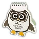 İstisna Takvim Mini Baykuş 2019